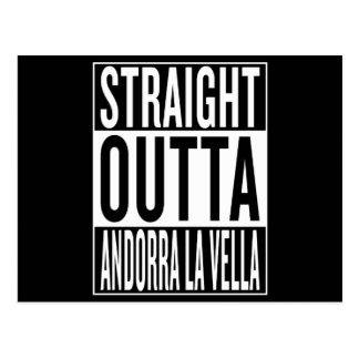 straight outta Andorra la Vella Postcard