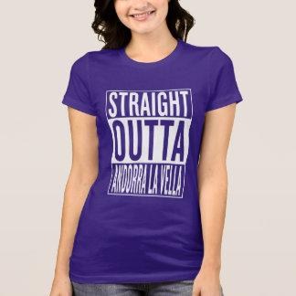straight outta Andorra la Vella T-Shirt