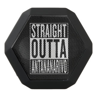 straight outta Antananarivo Black Bluetooth Speaker