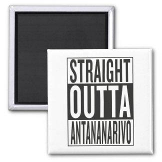 straight outta Antananarivo Square Magnet