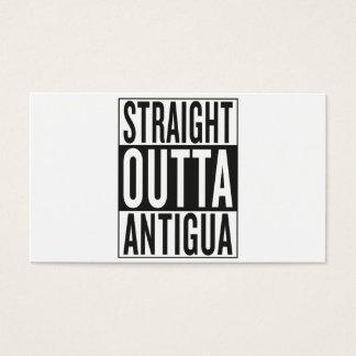 straight outta Antigua Business Card