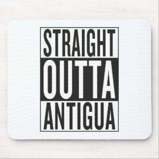 straight outta Antigua Mouse Pad