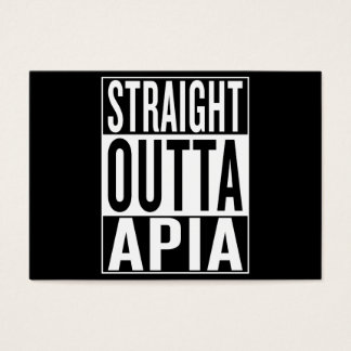 straight outta Apia Business Card