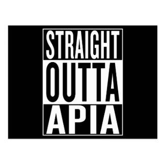 straight outta Apia Postcard