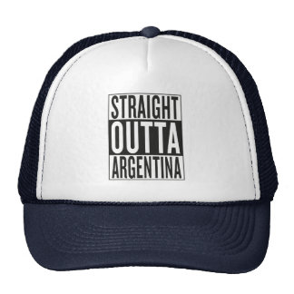 straight outta Argentina Trucker Hat