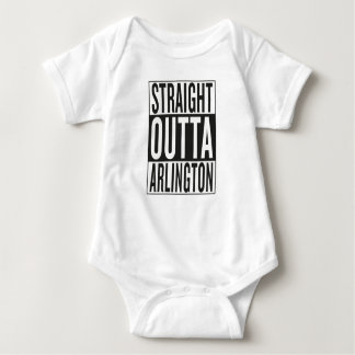 straight outta Arlington Baby Bodysuit