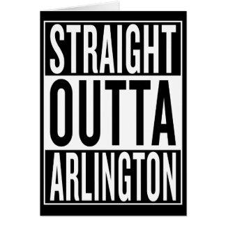 straight outta Arlington Card