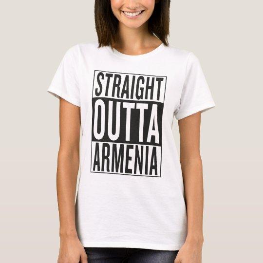straight outta Armenia T-Shirt