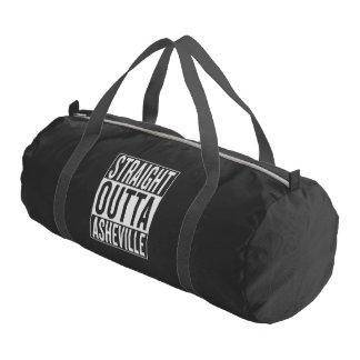 straight outta Asheville Gym Bag