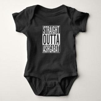 straight outta Ashgabat Baby Bodysuit