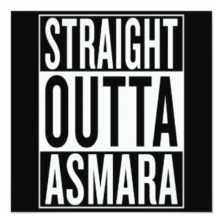 straight outta Asmara Card