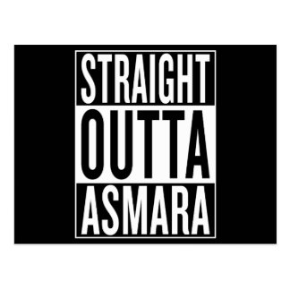 straight outta Asmara Postcard