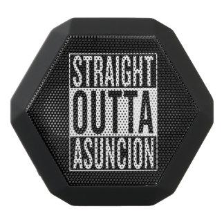 straight outta Asuncion Black Bluetooth Speaker