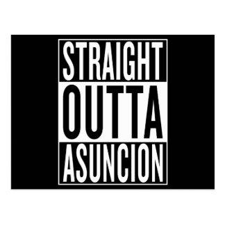 straight outta Asuncion Postcard