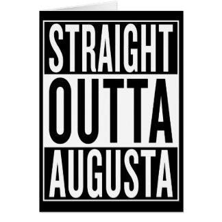 straight outta Augusta Card