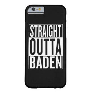 straight outta Baden Barely There iPhone 6 Case