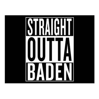 straight outta Baden Postcard