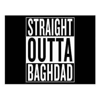 straight outta Baghdad Postcard