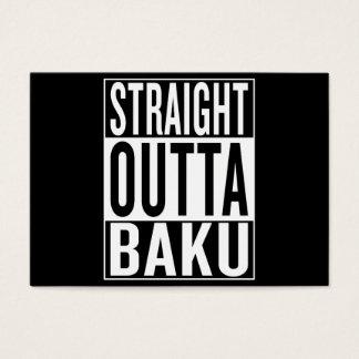 straight outta Baku Business Card