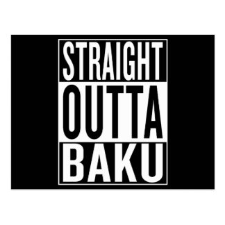 straight outta Baku Postcard
