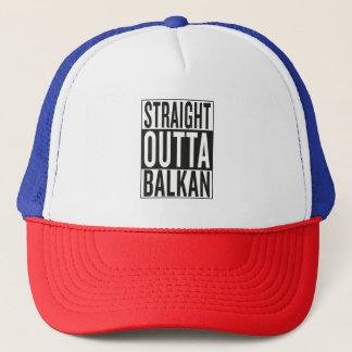 straight outta Balkan Trucker Hat