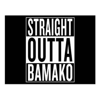 straight outta Bamako Postcard