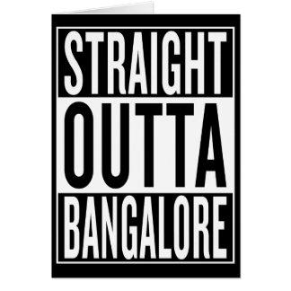 straight outta Bangalore Card