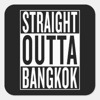 straight outta Bangkok Square Sticker