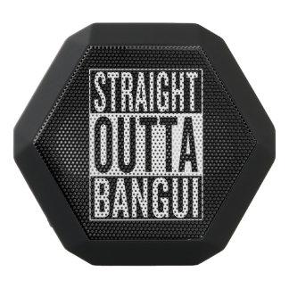 straight outta Bangui Black Bluetooth Speaker