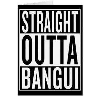 straight outta Bangui Card