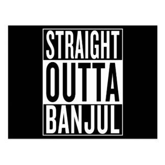 straight outta Banjul Postcard