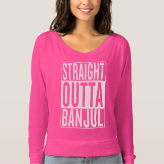 straight outta Banjul T-shirt