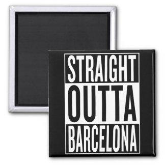 straight outta Barcelona Magnet