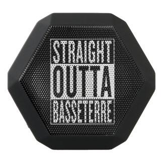 straight outta Basseterre Black Bluetooth Speaker
