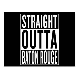 straight outta Baton Rouge Postcard