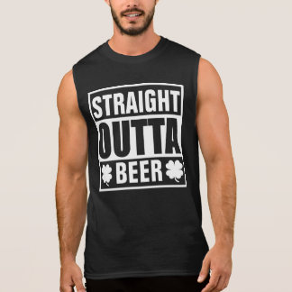 Straight Outta Beer Sleeveless Shirt