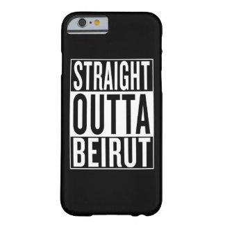 straight outta Beirut Barely There iPhone 6 Case