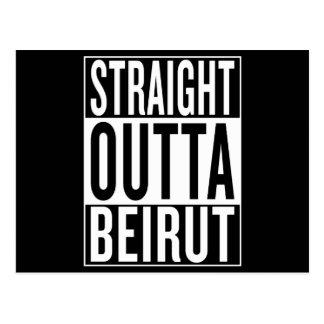 straight outta Beirut Postcard