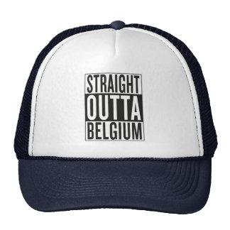 straight outta Belgium Trucker Hat