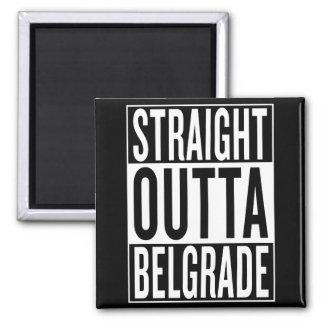 straight outta Belgrade Magnet