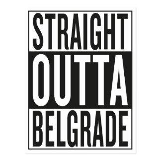 straight outta Belgrade Postcard