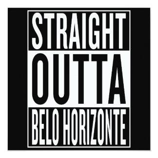 straight outta Belo Horizonte Card