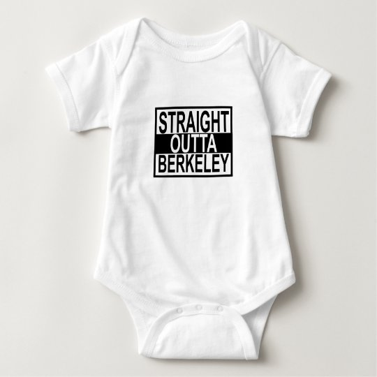 Straight Outta Berkeley T-shirts.png Baby Bodysuit
