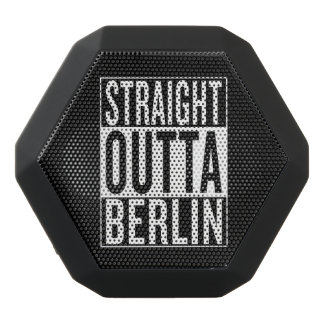 straight outta Berlin Black Bluetooth Speaker