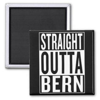 straight outta Bern Magnet