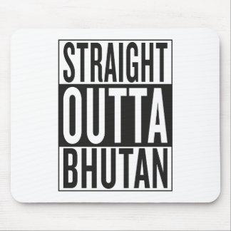 straight outta Bhutan Mouse Pad