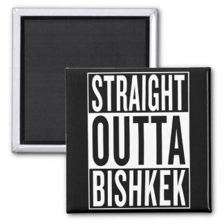 straight outta Bishkek Magnet