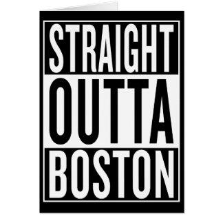 straight outta Boston Card