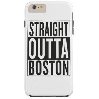 straight outta Boston Tough iPhone 6 Plus Case
