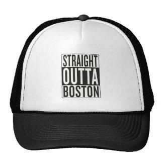 straight outta Boston Trucker Hat